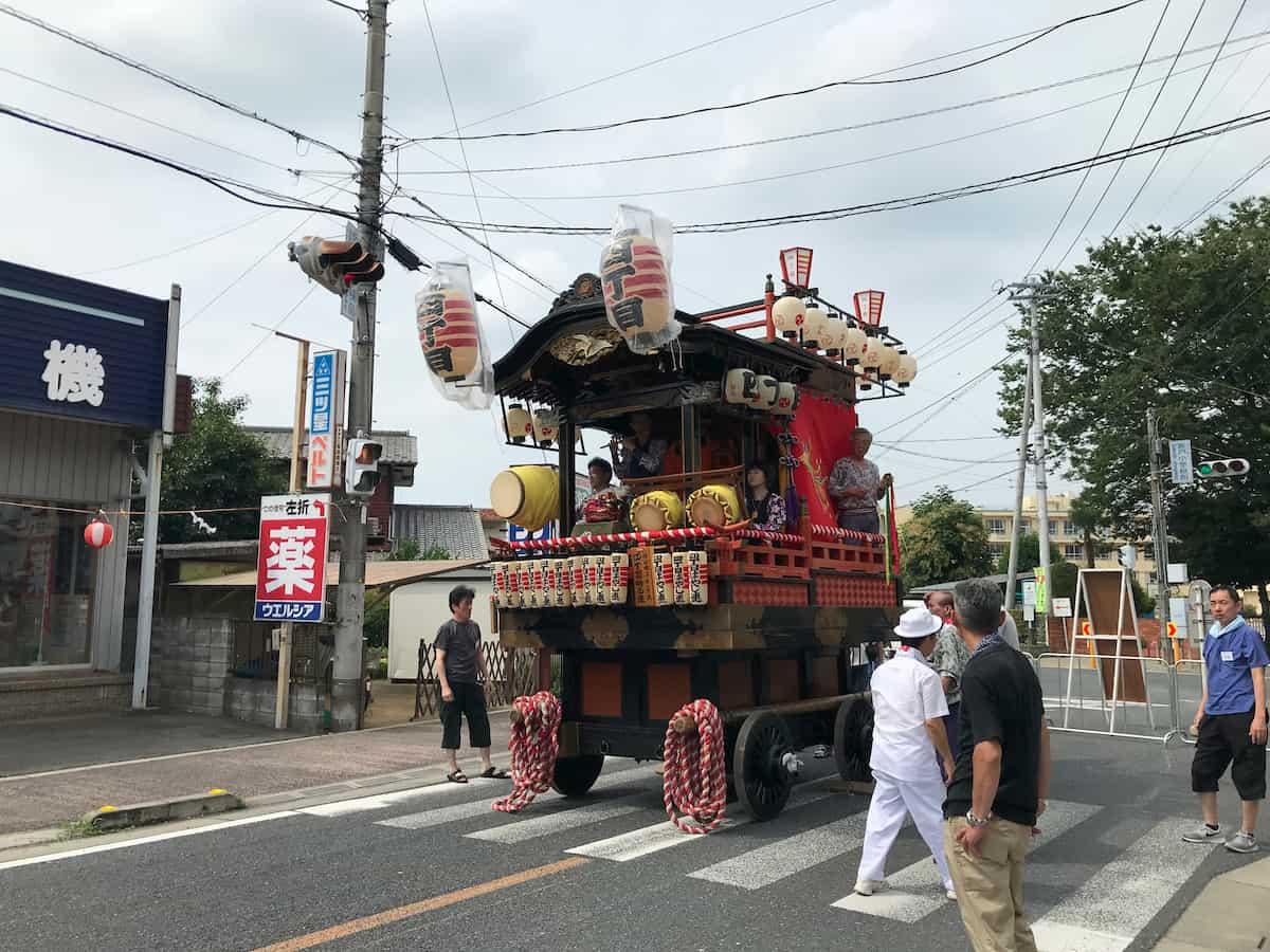 4丁目の山車