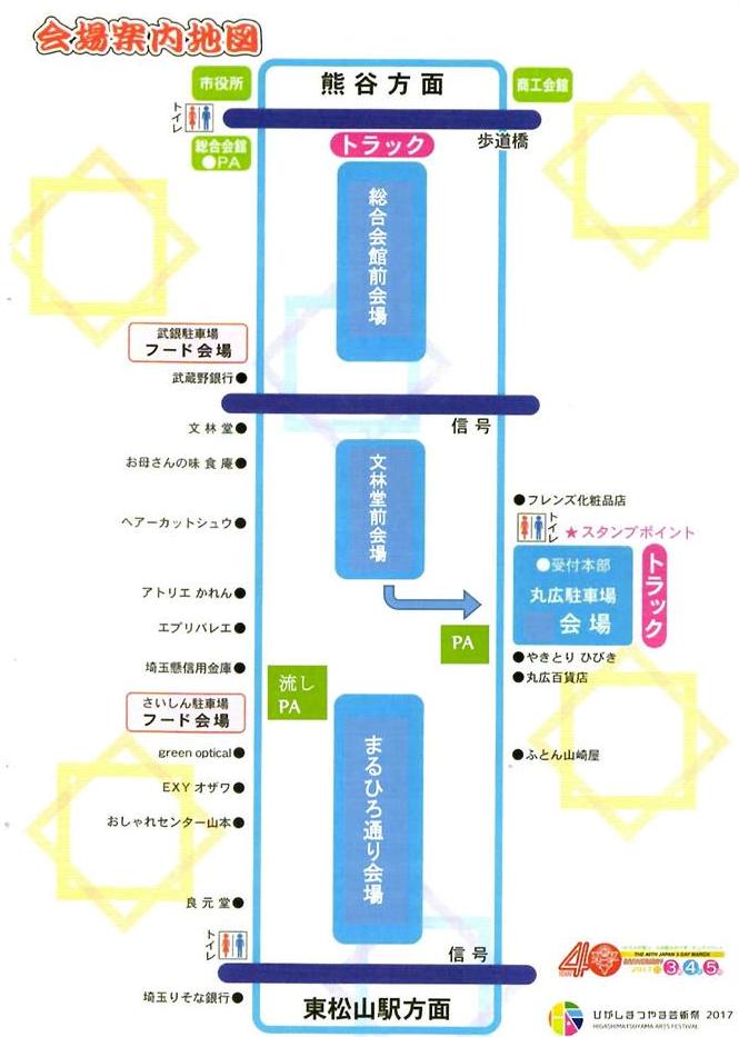 東松山市の陣屋まつりのアクセス