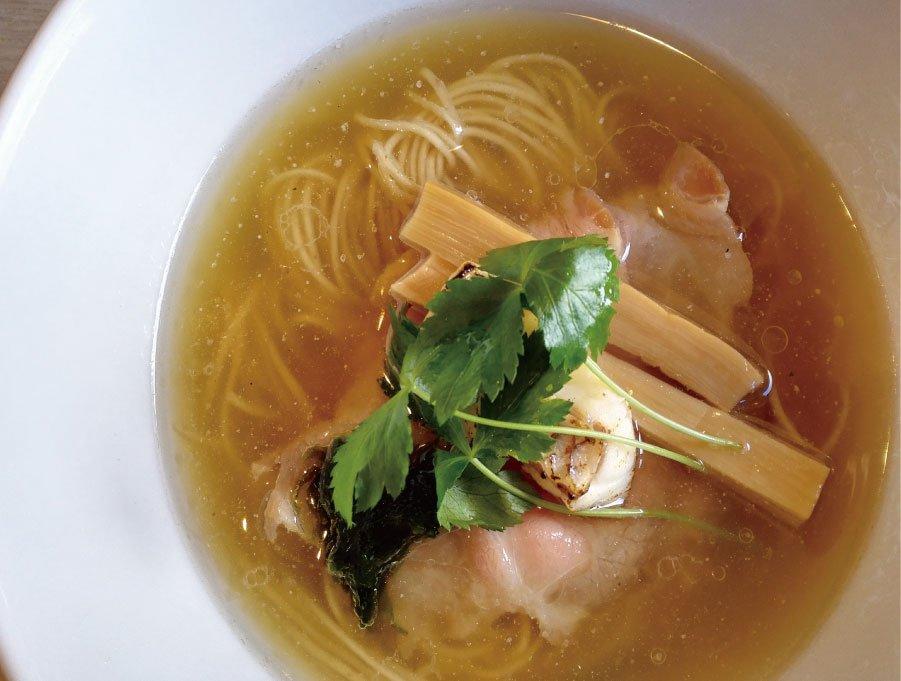 北坂戸の寿製麺よしかわの鯛そば