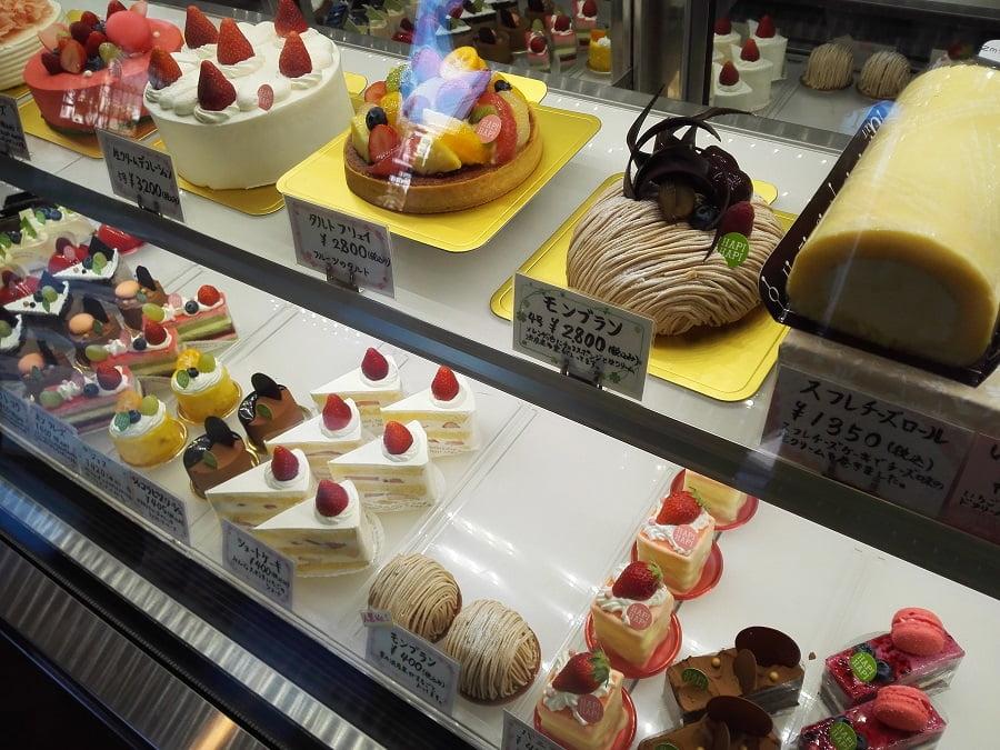洋菓子店「アピアピ」の品ぞろえと価格帯