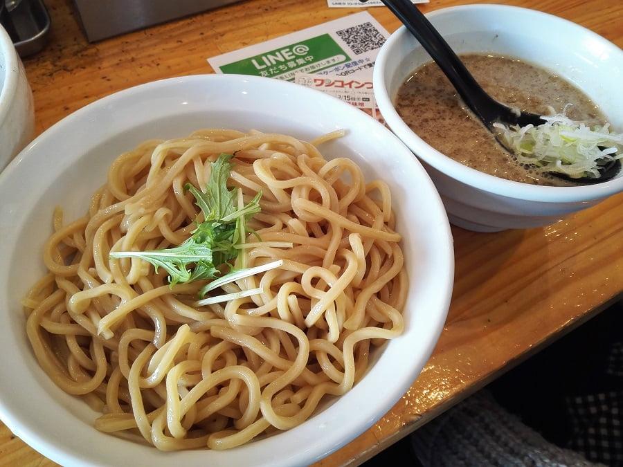 北坂戸のつけ麺二代目「いさお」のつけ麺