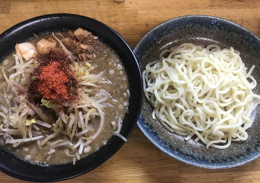 「麺屋信玄」のつけ麺勘助