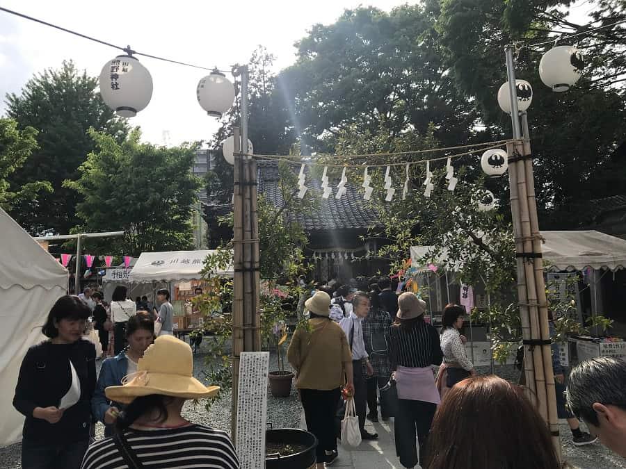 小江戸川越春まつりの熊野神社