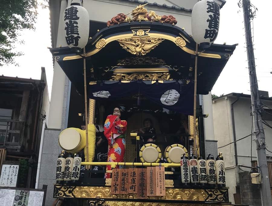 川越 熊野神社のお囃子