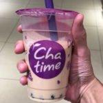 「チャタイム」ららぽーと富士見店でタピオカミルクティーを飲んだ感想