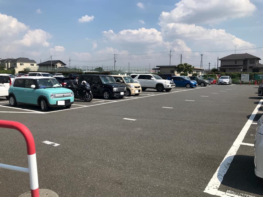 川越市無料観光駐車場