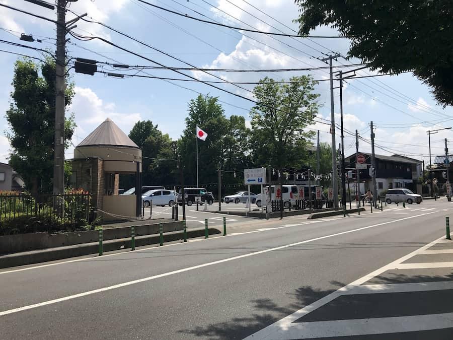川越氷川神社第1駐車場