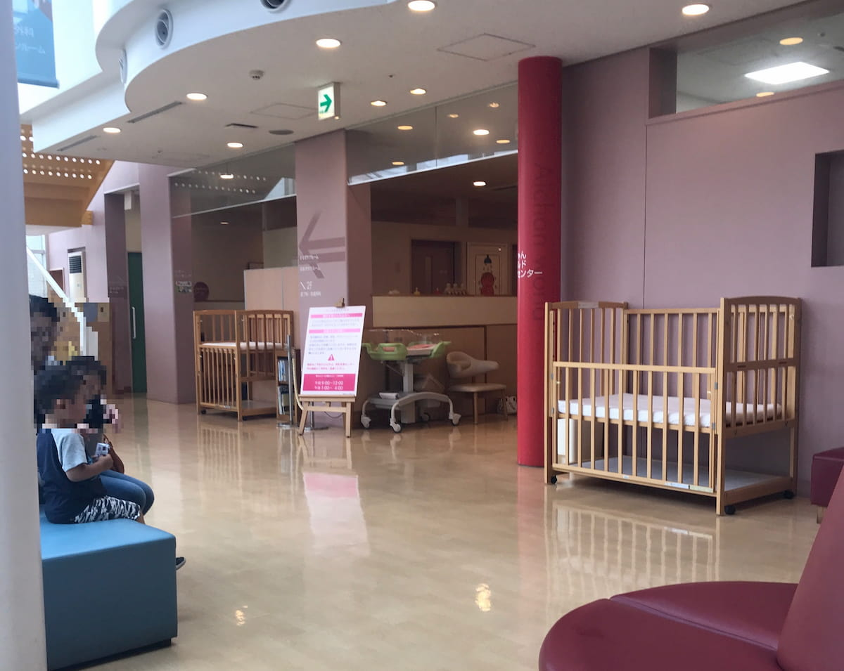 愛ちゃんワールド健診センターの入り口