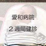 川越市「愛和病院」の乳児2週間健診に行ってみた