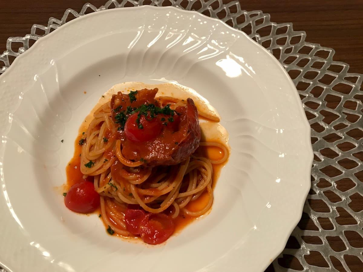 オマール海老 トマトソース