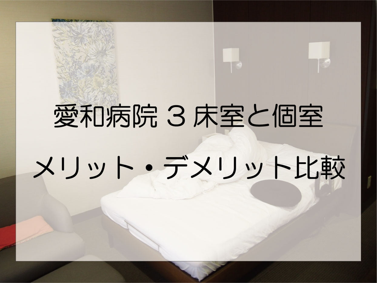 川越市「愛和病院」の産後入院は3床室と個室どっちを選ぶべき?
