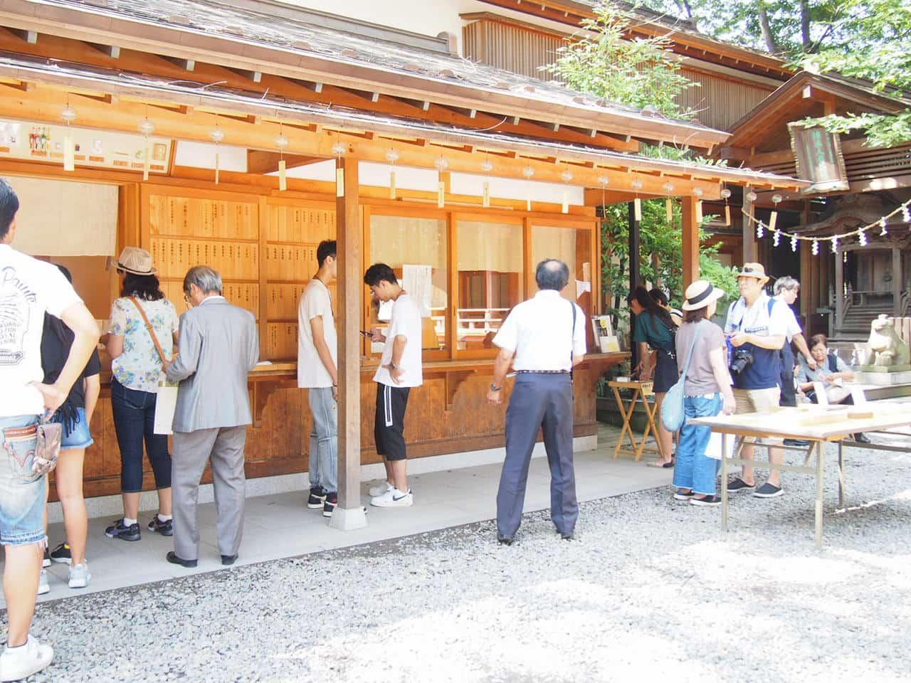 川越氷川神社の社務所