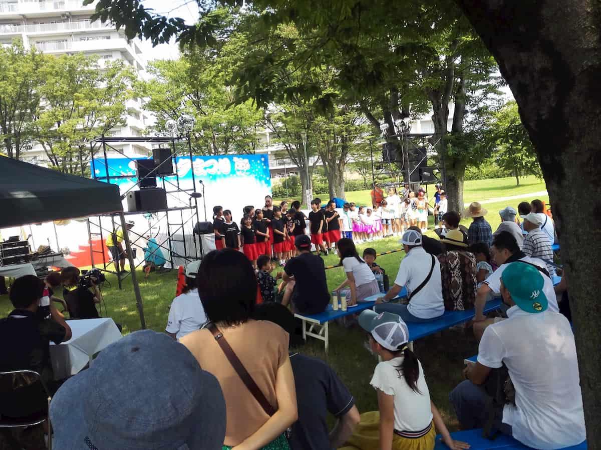 福岡中央公園のキッズダンス