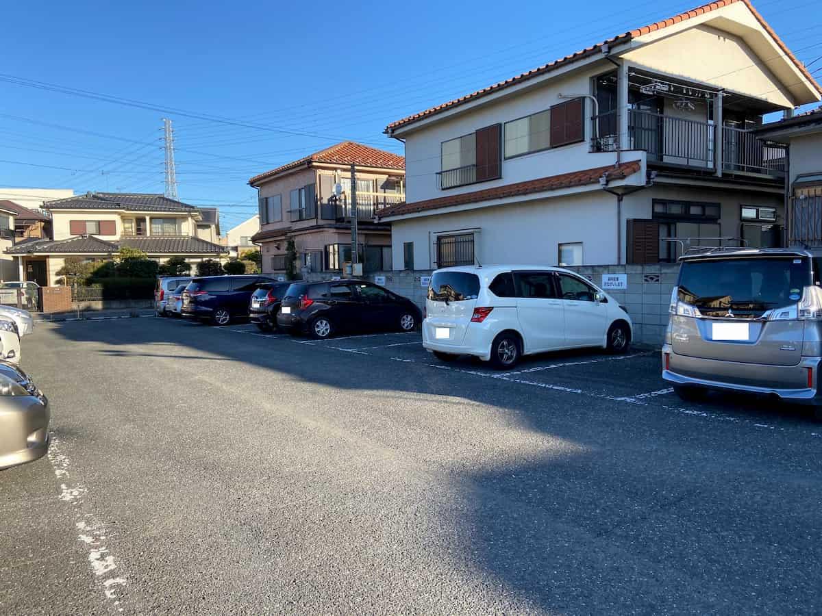 空きのある川越氷川神社第2駐車場