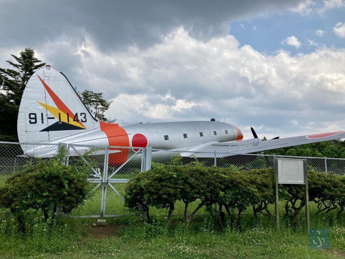 大きな飛行機のオブジェクト